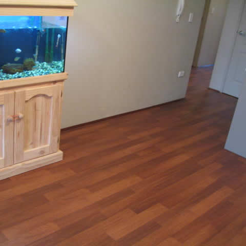 8 Laminate Floor W. George